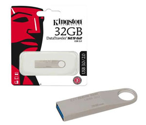 Kingston Data Traveler SE9 G2 USB 3.0 Flash Drive - 32GB