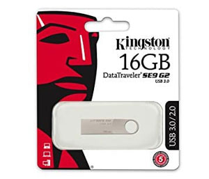Kingston Data Traveler SE9 G2 USB 3.0 Flash Drive - 16GB