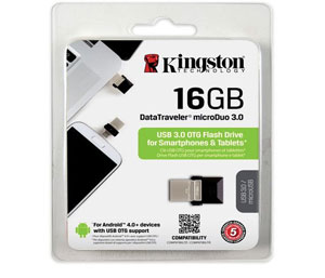 Kingston Data Traveler Micro Duo USB 3.0 -16GB