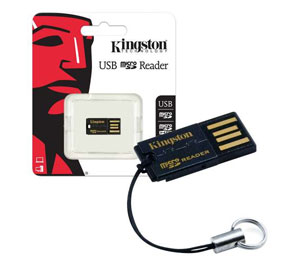 Kingston Mobile Memory Card Reader and Writer- USB 2.0 / MicroSD