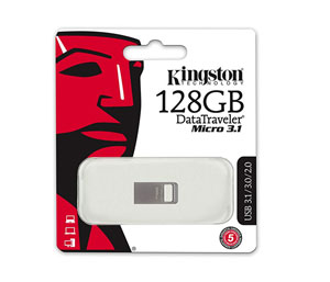 Kingston DataTraveler Micro 3.1 128GB USB 3.0