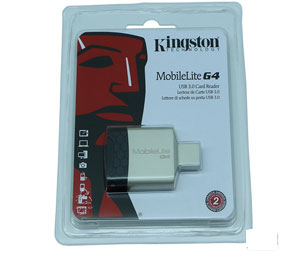 Kingston MobileLite G4 USB 3.0 Multi Card Reader