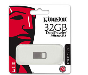Kingston DataTraveler Micro 3.1 32GB USB 3.0