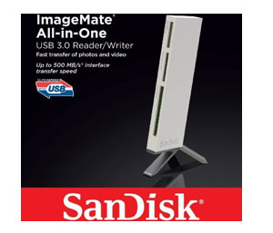 SanDisk ImageMate All-In-One USB 3.0 - SDDR-289-X20