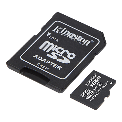 Kingston Canvas Micro SDHC Flash Memory Card.