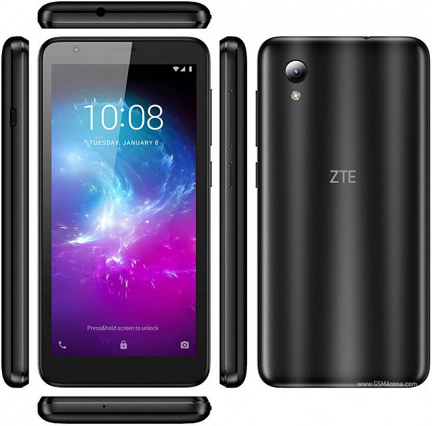 "ZTE Blade A3 Lite 5.0"" - Unlocked - (Black / Gold, 32GB)"
